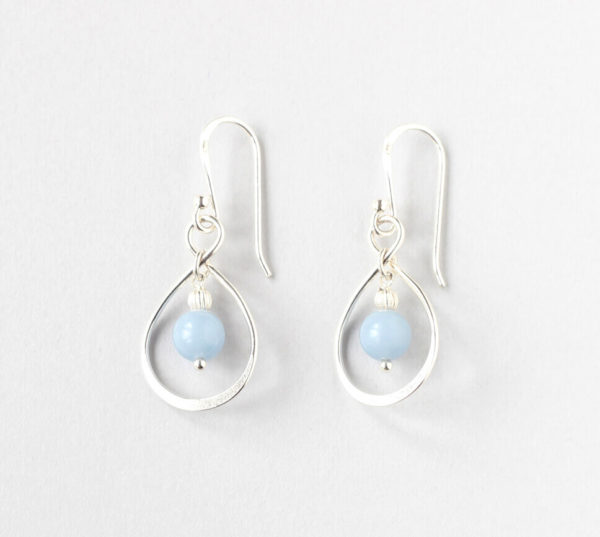 Angelite Link Earrings