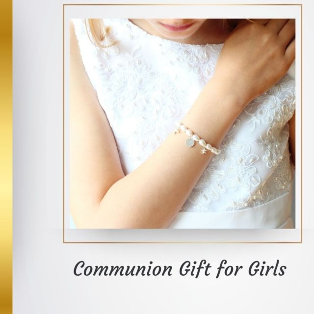 As we are now returning to normal life, First Communions will gradually be celebrated again. It is great news for little celebrants and their families. To help you make little girls happy and feel special check out our personalised Communion bracelets. They are handmade with freshwater pearls, also known as June birthstone. Two charms in sterling silver or gold filled and a hand stamped disc with an initial can be chosen.  https://ilgemstones.com/product-category/personalized/childrens-bracelets #communion #communiongift #personalisedgift #communionjewellry #irishjewellery #irishcraft #madelocal #ilgemstones #handmadejewellery #pearlbracelet #braceletforkids #kidsjewellery #firstcommuniongift