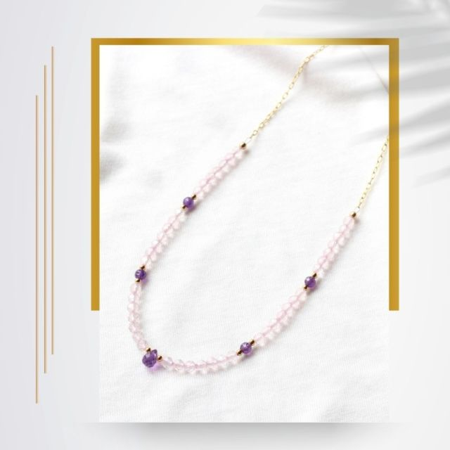 Happy summer solstice and the longest day of the year ☀️ . Summer is officially here 🐬. It is a great time of the year to enjoy wearing your jewellery and finally show it off. Remember, a simple T-shirt and a colourful necklace can do wonders for your look....  #summerjewellery #rosequartz #irishjewellery #irishcraft #ilgemstones  #madelocal #gemstonenecklace